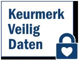 Logo Keurmerk Veilig Daten