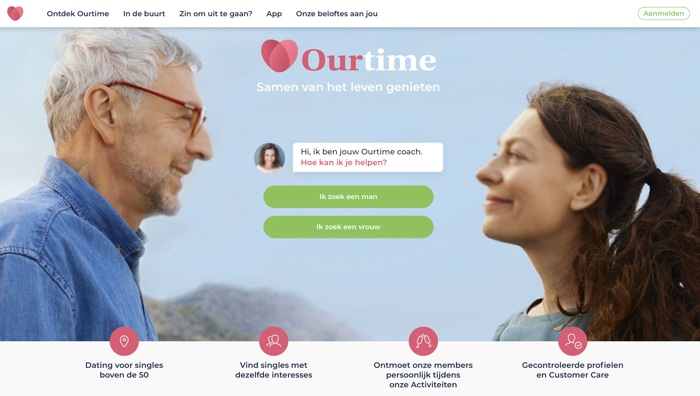 website van Ourtime