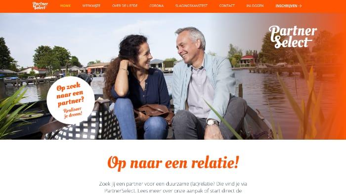 screenshot PartnerSelect.net